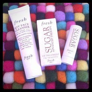 Fresh Soy Cleanser & Sugar Lip Treatment